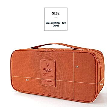 Womens Travel Accessories Womens Storage Bag For Underwear Clothes Lingerie Bra Organizer Cosmetic Pouch Suitcase Case Reputation First Storage Boxes & Bins