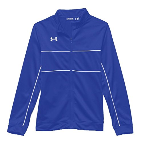 Under Armour Youth Rival Knit Warm-up Jacket (SM (8 Big Kids), - Warm Youth Jacket Up