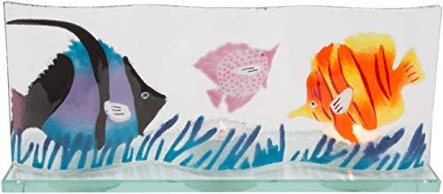 Pavilion- Angel Fish Ocean 10x4.5 Tealight Candle Screen ()