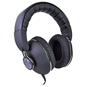JLab Bombora Premium Over-Ear Headphones w/Detachable 3.5mm Flat Cable w/Inline Mic/Track Control (Midnight Black) consumer electronics Electronics