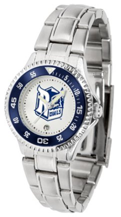 SunTime Rice Owls Competitor Ladies Watch with Steel Band