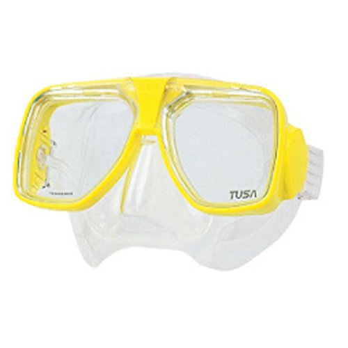 - TUSA TM-5700 Liberator Plus Scuba Diving Mask, Flash Yellow