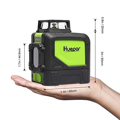Huepar 901cg Self Leveling Laser Level 360 Green Beam