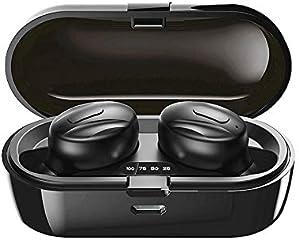 2020 Nuevo Auricular Bluetooth inalámbrico,cancelación de Ruido, Mini Auricular Bluetooth Interno de 15 Horas para...