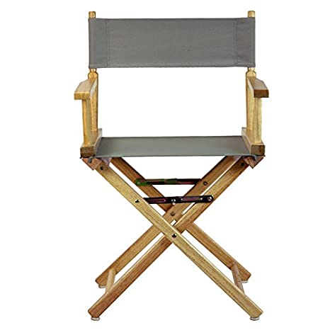 Director Chair Cover Kit Color: Grey