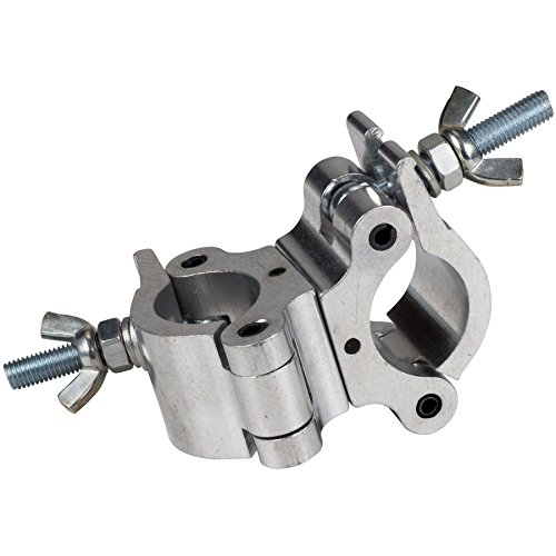 Heavy-Duty Stage Lighting Clamp Swivel Coupler 1-1/2'' to 2'' Pipe Truss by Parts Express