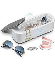 Ultrasone reiniger, ultrasoon reinigingsapparaat, ultrasoon bad ultrasone reiniger reinigingsapparaat voor sieraden, ringen, zilver, houder, brillen, horloges, munten