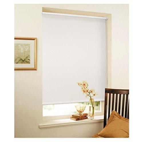 Auralum ® Thermo Rollo Klemmrollo Klemmfix ohne Bohren Bx L 80X150CM Beschichtung und Abdunkeln Sonnenschutzrollo (Weiß )