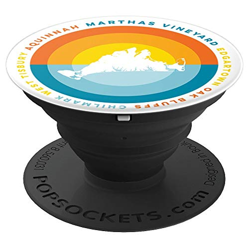 Martha's Vineyard Sunset PopSockets Grip - PopSockets Grip and Stand for Phones and Tablets