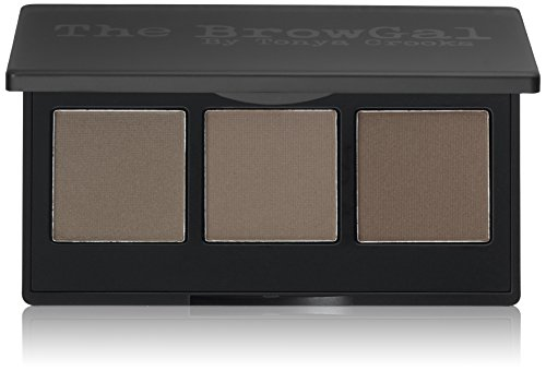 The BrowGal Convertible Brow Wet For Pomade Dry For Powder 2 in 1 Full Brow Definition