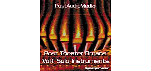 TASCAM BG: Post Theater Organ Vol.1 Giga CD (Vol 1 Organ)