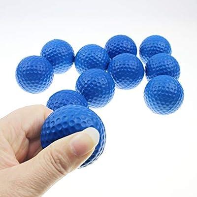 Kofull Practice Golf Balls, Golf Foam Sponge Soft Elastic Practice Indoor &Outdoor Ball -24/ Pack by Kofull