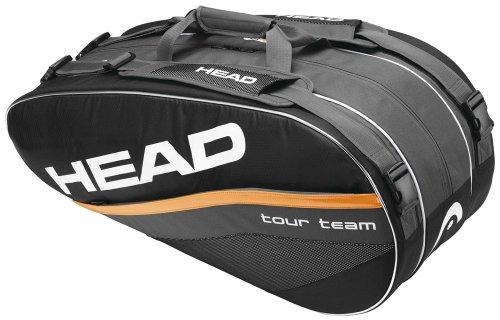 HEAD  Tennistasche Tour Team Combi, grau/schwarz/orange, TH283032