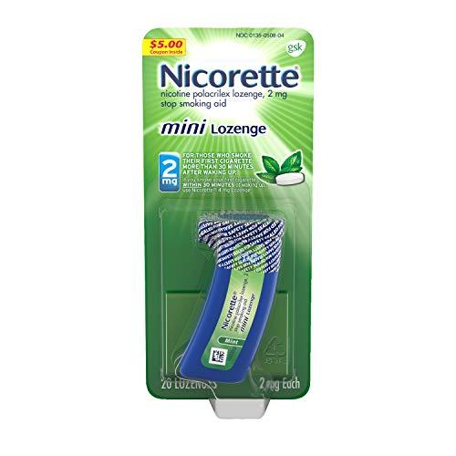 Nicorette 2 mg Nicotine Lozenges to Quit Smoking