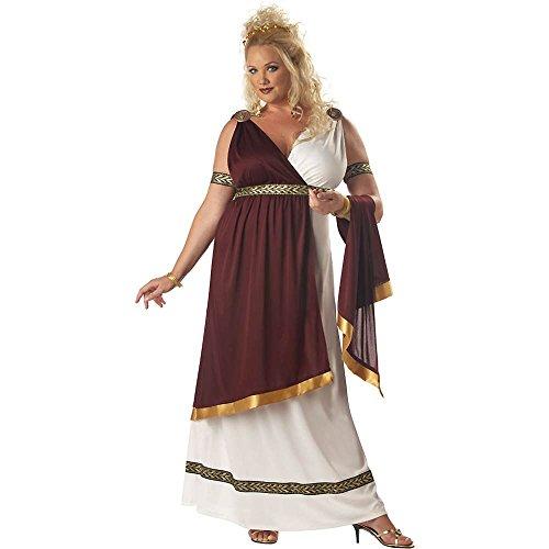 Roman Empress Plus Size Costumes (Roman Empress Adult Costume - Plus Size 2X)