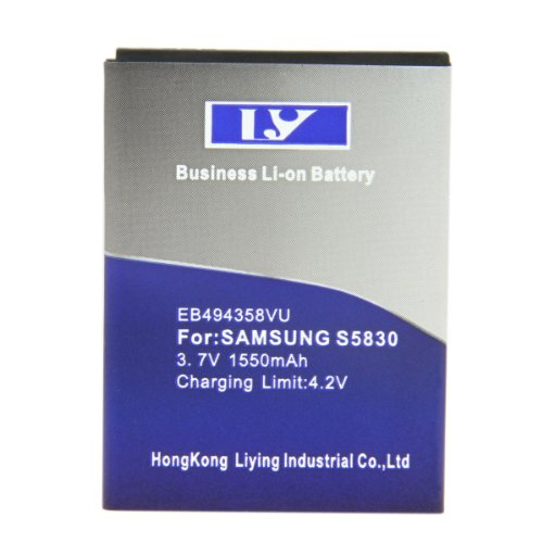 Bao Xin Brand New 1550mAh Extanded Battery for Samsung S5830 Wavem Galaxy Pro Ace B7510 i569 i579 S5660 S5670 S5838 S7250 S7250d