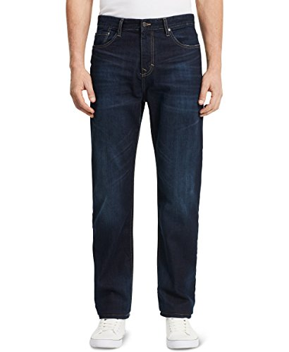 Calvin Klein Men's Relaxed Straight Leg Jean, Deep Water, 36x34 (Jean Straight 559 Relaxed)