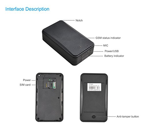 Concox No Need Installation Asset GPS Tracker AT4 with Strong Magnet