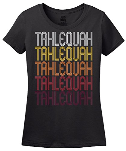 Tahlequah, OK   Retro, Vintage Style Oklahoma Pride T-shirt