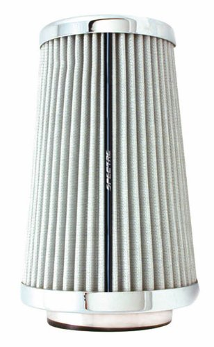 Spectre Performance 9738 Universal Clamp-On Air Filter: Round Tapered; 3 in/3.5 in/4 in (102 mm/89 mm/76 mm) Flange ID; 8.75 in (222 mm) Height; 6 in (152 mm) Base; 4.75 in (121 mm) Top by Spectre Performance (Image #8)