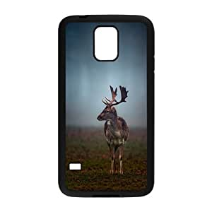 Deer Fashion Design Hard Back Protection Cover Case For Samsung Galaxy S5 TPU