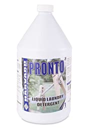 Harvard Chemical 2700 Pronto Liquid Laundry Detergent, Floral Odor, 1 Gallon Pail, Blue (Case of 4)