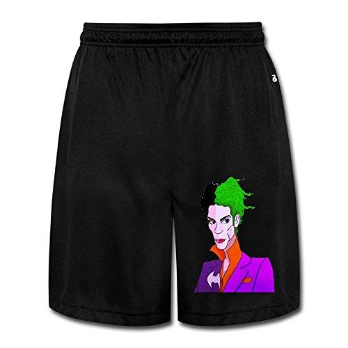 [Prince Logo Performance Shorts Sweatpants Adult Sweat PantsLeisure] (1980s Tennis Costume)
