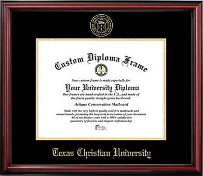 Texas Christian University Affordable Diploma Frame by Diploma Frame Deals