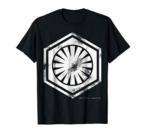 Star Wars First Order Symbol Force Awakens Graphic T-Shirt