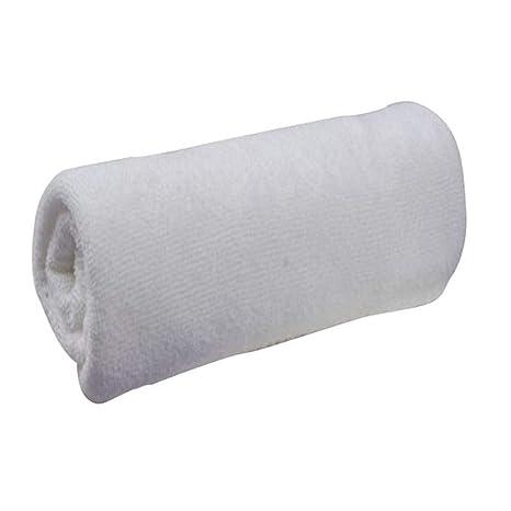 TFVCSK Toalla de baño 30 * 60 CM Blanco Suave Tela de Microfibra Toalla de Tocador