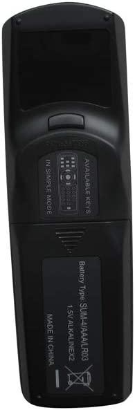 Hotsmtbang Replacement Remote Control for Christie LHD700 LX605 LX500 LX650 LX700 LX1750 Large Venue 3LCD Projector