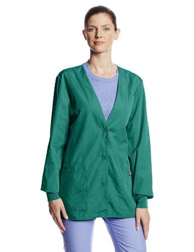 Hunter Green Womens Cardigan - 2