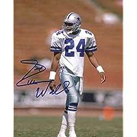 $28 » Everson Walls Autographed/Signed Dallas Cowboys 8x10 Photo 13693 - Autographed NFL Photos