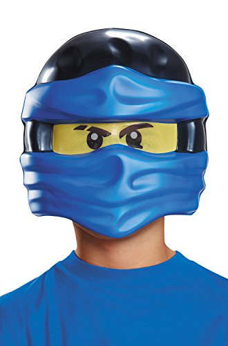 Jay Ninjago LEGO Mask, One Size Child