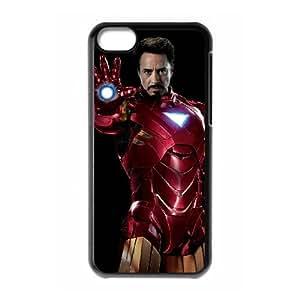 Iron Man iPhone 5c Cell Phone Case BlackY4623783