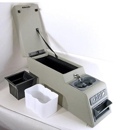 Rugged Ridge 13102.09 Ultimate Grey Locking Center Console