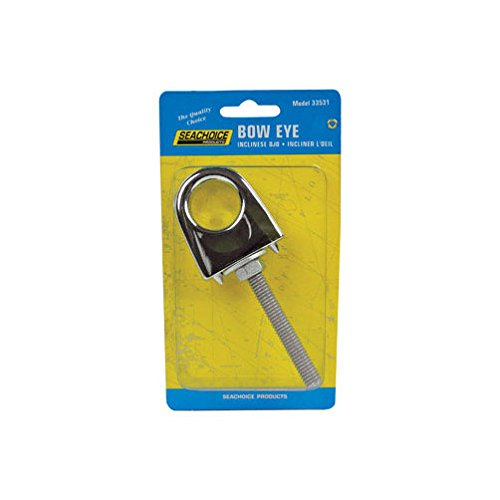 (Seachoice Single Shank Bow Eye Zamak,Cadmium-Mfg# 33531 - Sold As 7 Units)