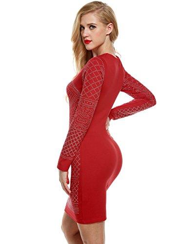 bulges Shining Red Dresses Black Dress Women Dress Blue for Cocktail Dress Evening 1HrHnUW
