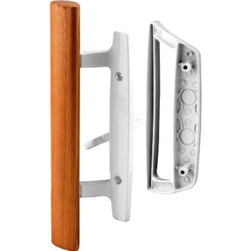 Slide-Co 143532 White Sliding Patio Door Handle Set