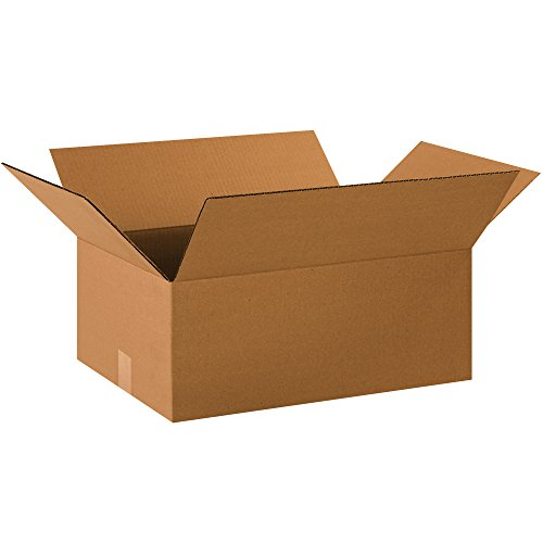 "Partners Brand P2014850PK Corrugated Boxes, 20"" L x 14"" W x 8"" H, Kraft (Pack of 50) from Partners Brand"