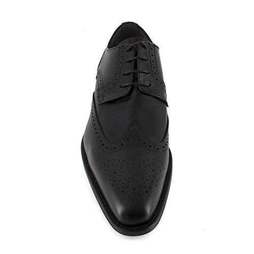 J.Bradford - Zapatos Hombre Cuero JB-ALAIN Negro
