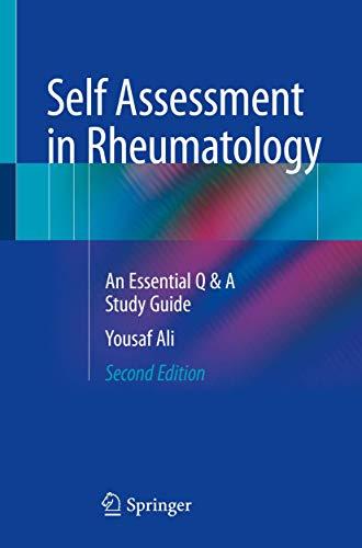 Self Assessment in Rheumatology: An Essential Q & A