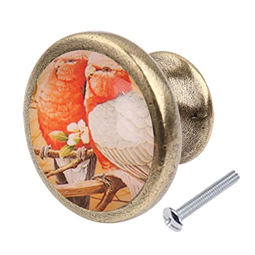 Vintage Bronze Cupboard Cabinet Pull Handle Door Knob Cabinet Hardware - Ladybug Door Knocker