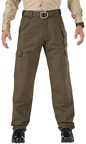 5.11 TACTICAL SERIES Men/'s 28 Waist 005 Khaki Cotton Cargo Pants Unhemmed 74251U