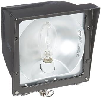 RAB Lighting EZHH100QT Versatile Metal Halide Floodlight with Hinged Lens Frame ED17 Type Aluminum  sc 1 st  Amazon.com & RAB Lighting EZHH100QT Versatile Metal Halide Floodlight with ... azcodes.com