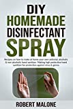 DIY HOMEMADE DISINFECTANT SPRAY: Recipes on how