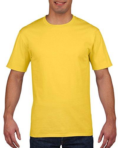 - Gildan Mens Premium Cotton Ring Spun Short Sleeve T-Shirt (XL) (Daisy)