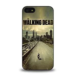 iPhone 5 5S case protective skin cover with hot TV The Walking Dead cool poster design #7 by ruishername