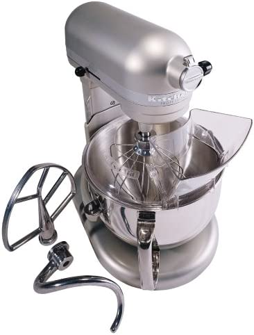 Kitchenaid Professional 600 Stand Mixer 6 quart, Nickel Pearl (Renewed)