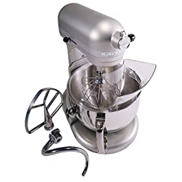 Kitchenaid Professional 600 Stand Mixer 6 quart, Nickel Pearl (Renewed)